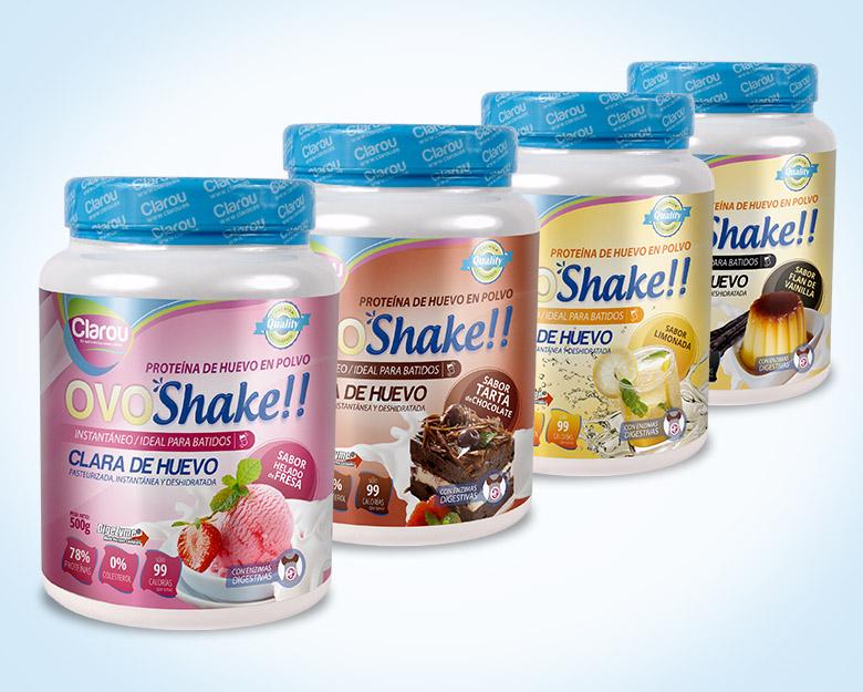 Diseño de packaging proteinas de huevo