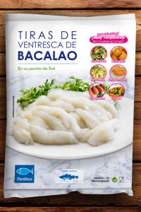 Diseño packaging bacalao