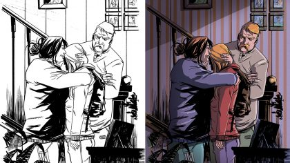 Color para pagina comic