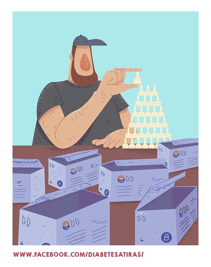 Ilustración piramide de agujas