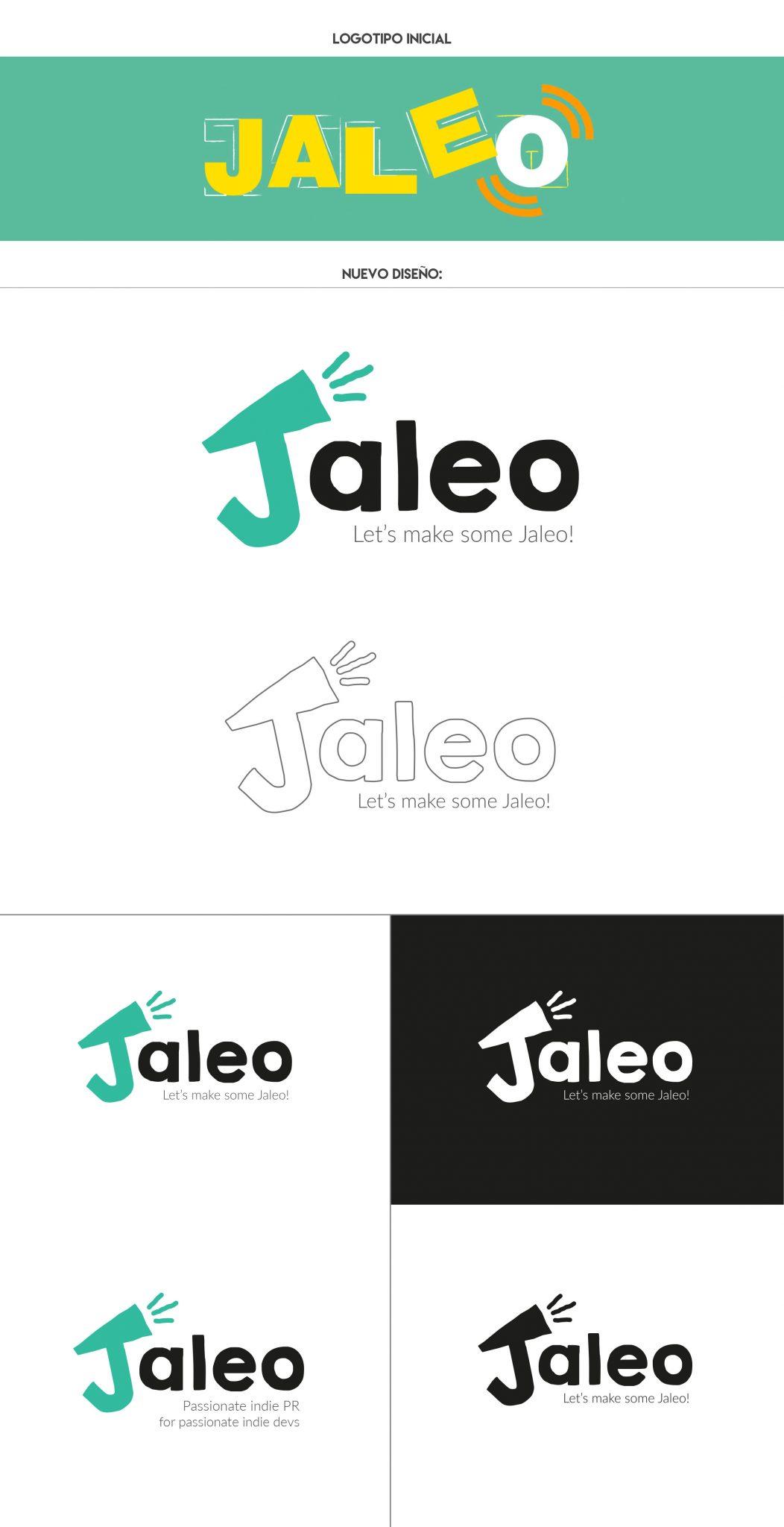 Proceso de creación de logotipo