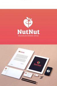 Diseño logotipo educación nutricional
