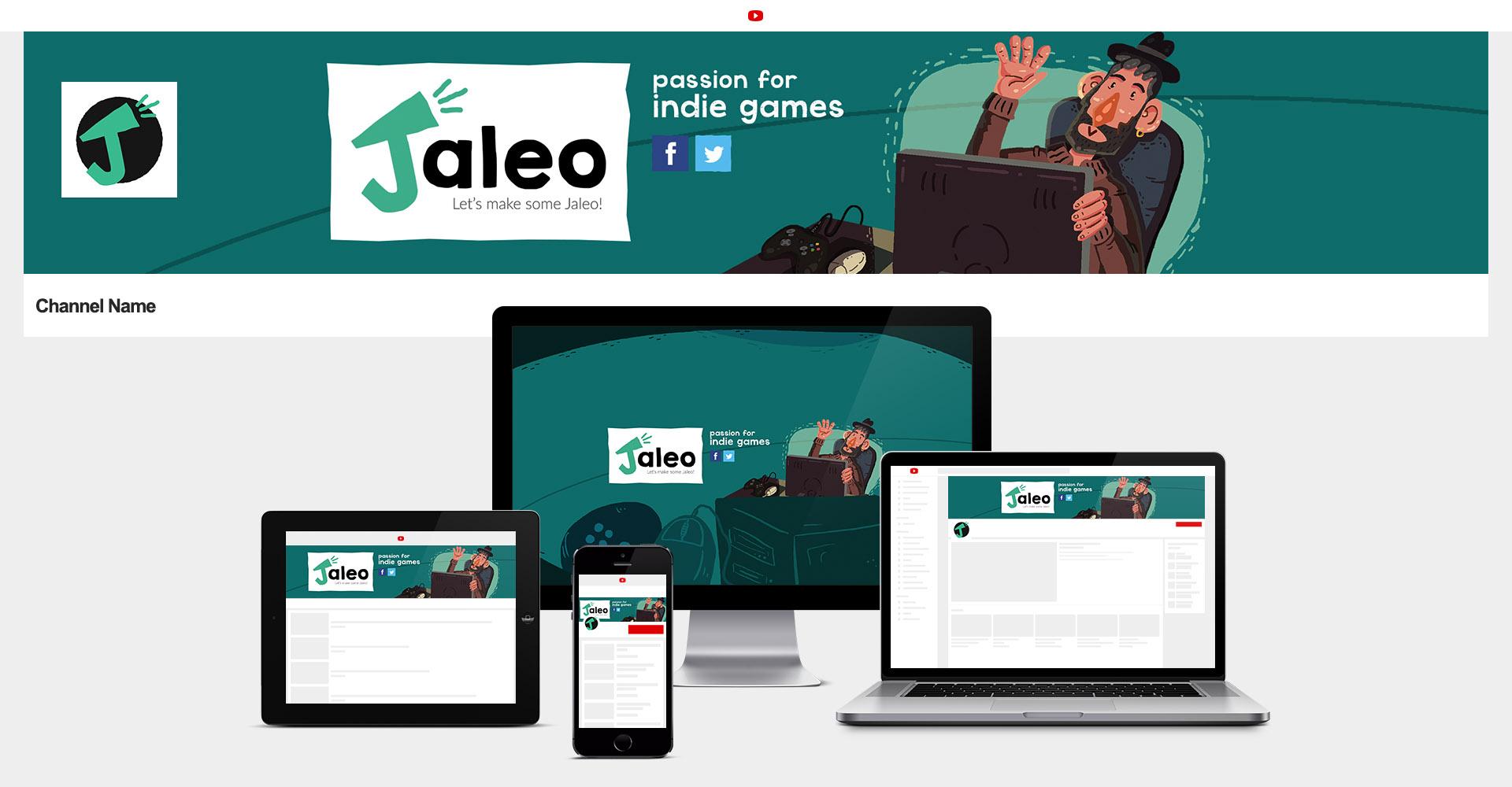 Ilustraciones y diseños para canal de youtube