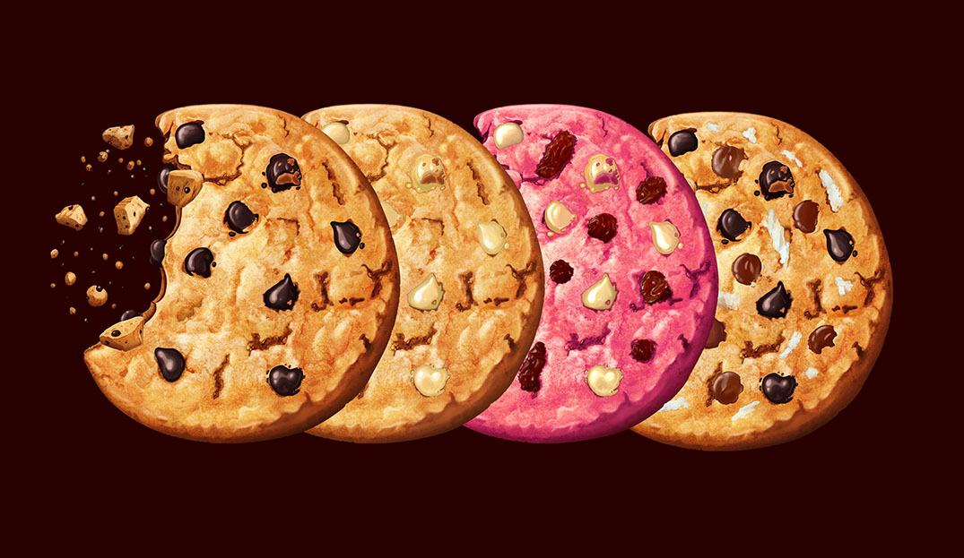 Ilustraciones galletas para packaging
