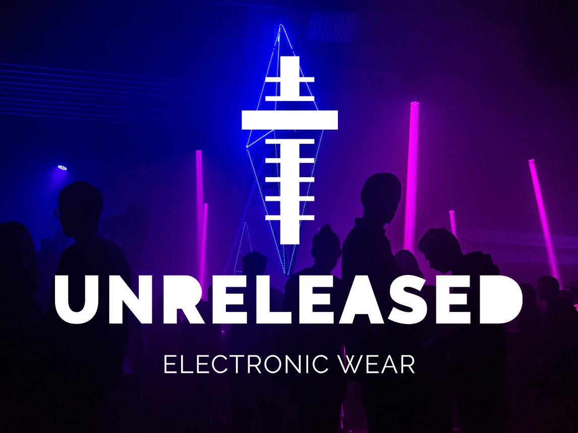 Unreleased – Diseño logotipo e ilustraciones marca ropa